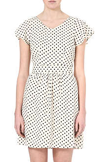 VERO MODA Selinas spot-print dress