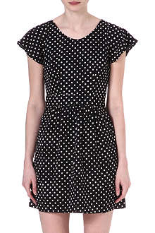 VERO MODA Selina polka dot-print dress