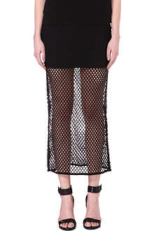 NOISY MAY Jane mesh skirt