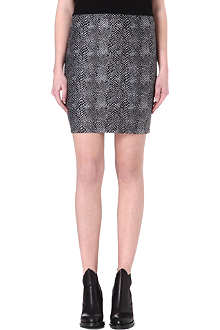 NOISY MAY Hally python-print mini skirt