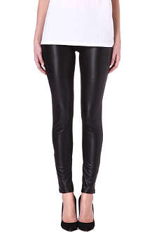 NOISY MAY Montral faux-leather leggings