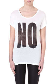 NOISY MAY No printed jersey t-shirt