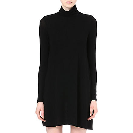 VERO MODA Marikka turtleneck dress (Black