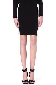 VERO MODA Mono stretch-jersey mini skirt