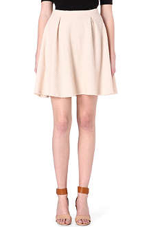 VERO MODA Ruffel stretch-jersey mini skirt