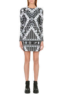 KTZ Astro print stretch-cotton dress