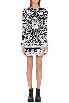 KTZ Cosmo print cotton dress