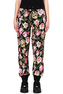JOYRICH Angelic Rich floral-print jogging bottoms