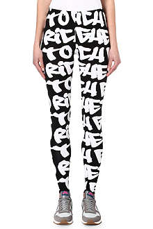 JOYRICH Ghetto Rich graffiti-print leggings