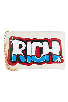 JOYRICH Rich Graffiti clutch bag