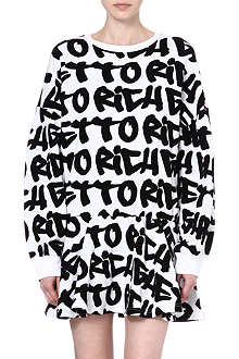JOYRICH Ghetto graffiti tunic dress