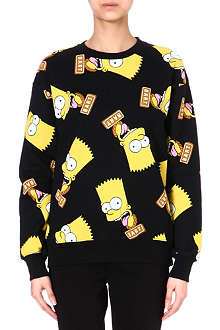 JOYRICH Bart simpson round neck jumper
