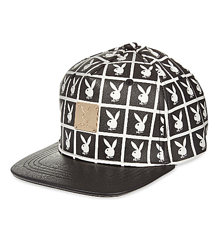 JOYRICH Playboy panel snapback cap (Black
