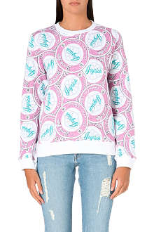 JOYRICH Resort icon cotton-jersey sweatshirt