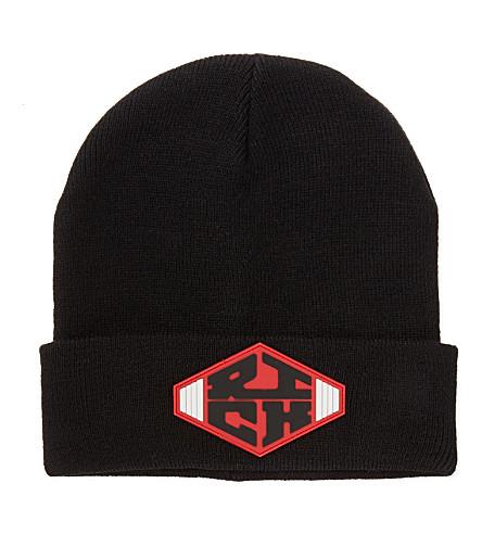 JOYRICH Rich emblem beanie (Black