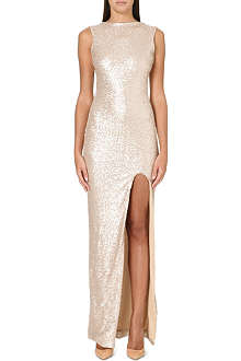 ONO UNO Venice sequinned gown