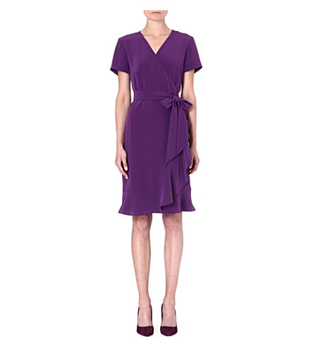 LADRESS Juliette ruffled dress (Purple