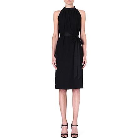 LADRESS Frida halterneck dress (Black