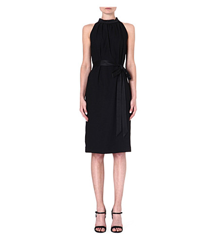 LADRESS Frida halterneck dress (Black