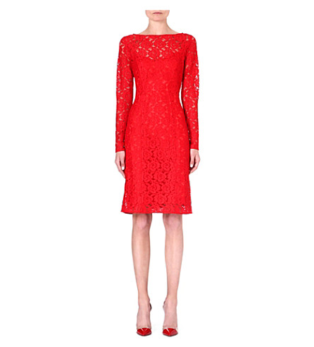 LADRESS Selma lace dress (Red