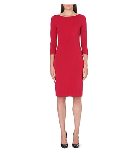 LADRESS Charlotte jersey dress (Burgundy