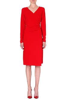 LADRESS Elizabeth wrap-effect dress