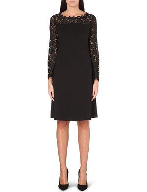 LADRESS Emma lace-panel dress