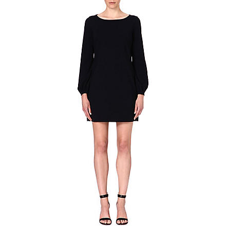 LADRESS Blake bishop-sleeve dress (Black