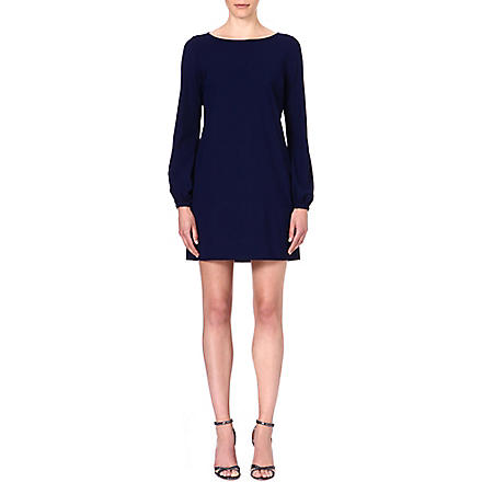 LADRESS Blake bishop-sleeve dress (Navy