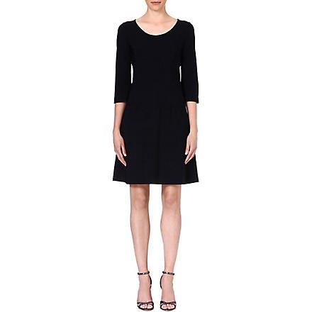 LADRESS Anais flared dress (Black