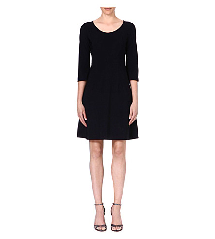 LADRESS Anais flared dress (Black