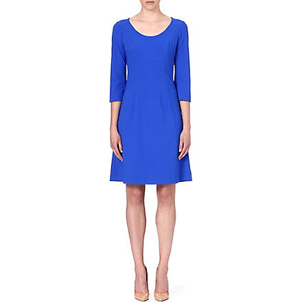 LADRESS Anais flared dress (Cobalt