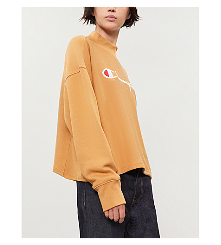 CHAMPION High-neck cotton-jersey sweatshirt (Cnb