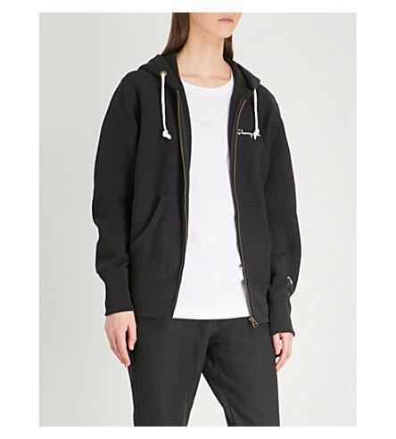 bordada con Sudadera CHAMPION algodón de de jersey Nbk con logo capucha de qFOBq