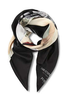 PORTS 1961 Warhol silk scarf