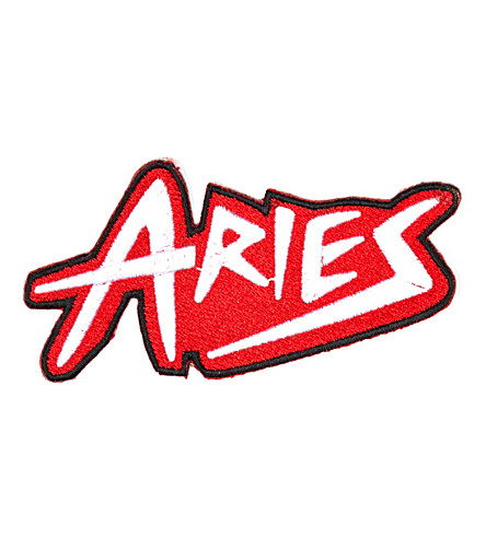 ARIES A New Wave embroidered patch (Red