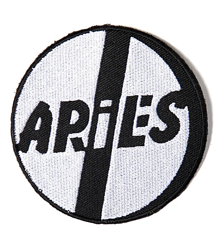 ARIES Pill embroidered patch (Black
