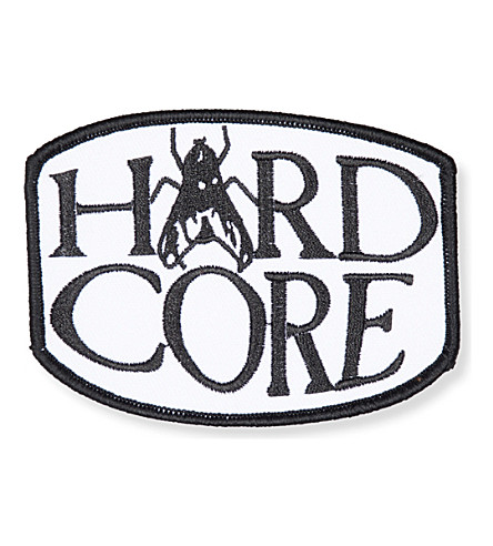 ARIES Hard Core embroidered patch (Black