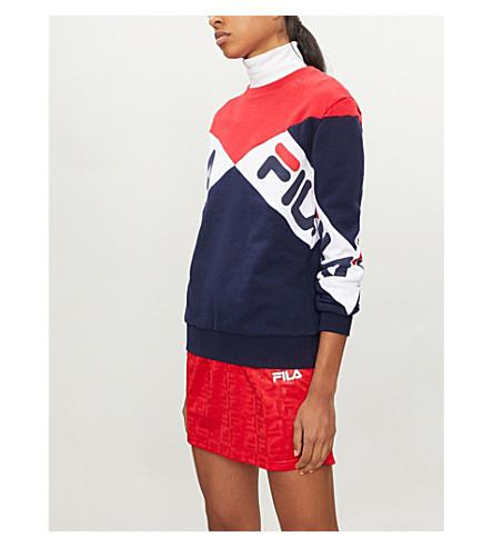 FILA Lidia cotton-blend sweatshirt (Red