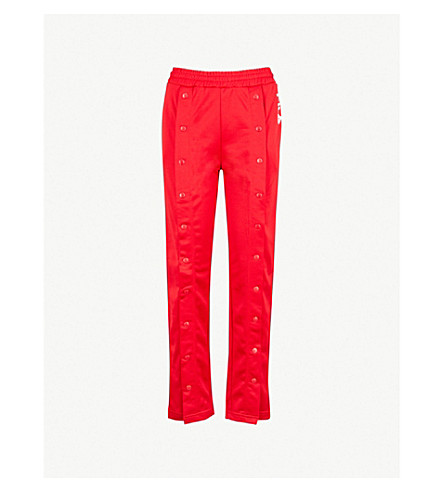 ... FILA Alice popper-fastened jersey track pants (Red. PreviousNext f61a0487c6