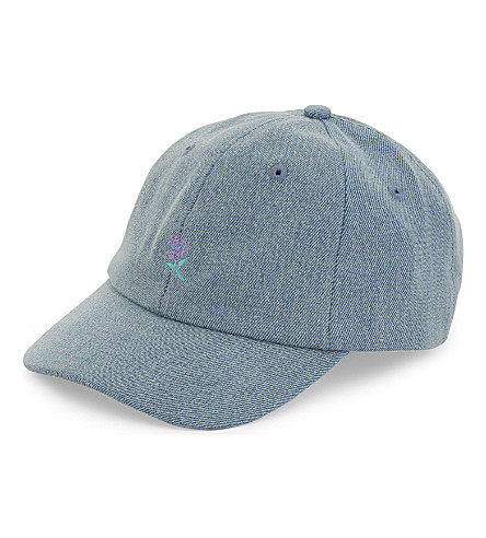 WASTED PARIS Rose denim cap (Denim