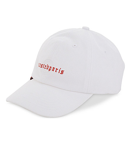 WASTED PARIS Logo cap (White
