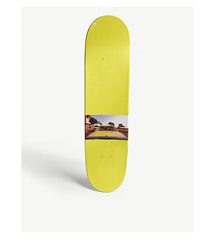 WASTED PARIS Night on Earth American wood skateboard deck (Yellow