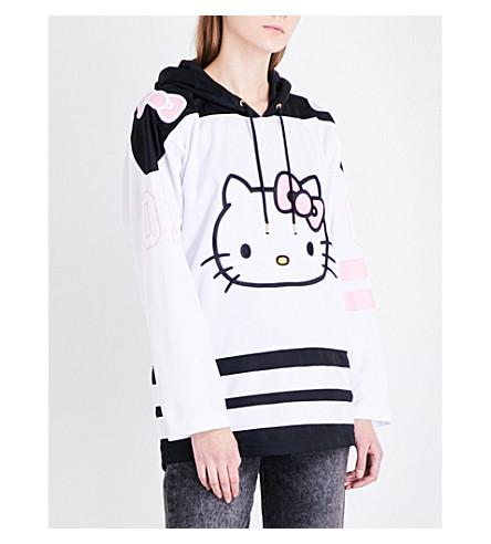 GCDS HK sports-jersey hoody (White