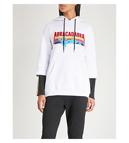 GCDS Abracadabra cotton-jersey hoody (White