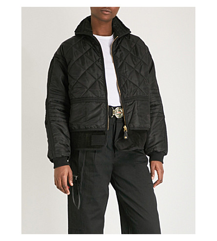 032C 时尚麂皮绒软壳面料夹克 (黑色