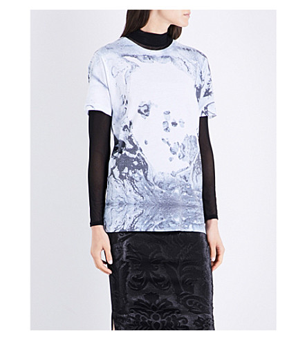 RADIOHEAD A Moon Shaped Pool Dye-Sub jersey T-shirt (Multi