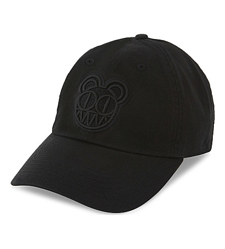 RADIOHEAD Embroidered bearhead cap (Black