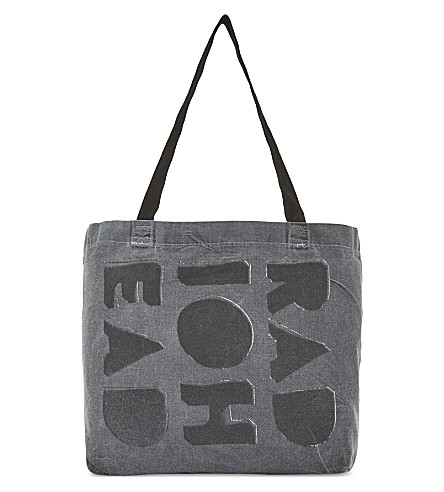 RADIOHEAD Cotton tote bag (Black