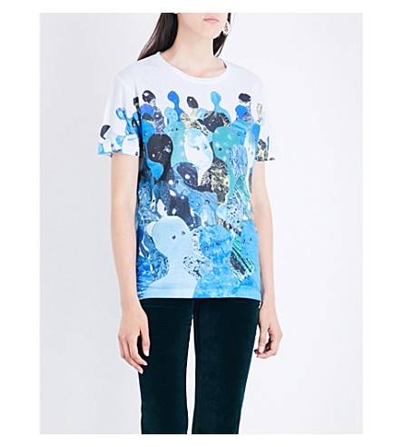 RADIOHEAD In Search Dye-Sub jersey T-shirt (Multi